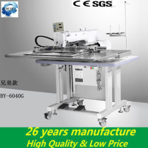 Heavy Duty Industrial Pattern Computerized Embroidery Sewing Machine for Leather pictures & photos