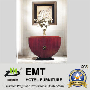 Fashion Hotel Furniture Flower Table Console Table (EMT-CA05) pictures & photos