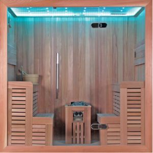 Monalisa Family Design 4 People LED Sexy Sauna Room (M-6043) pictures & photos