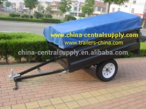 Wholesale Buy Manufacturer Made Mini 7X4 Box Trailer B74 pictures & photos