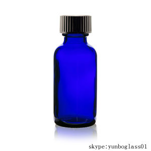 1oz Cobalt Blue Pure Essential Oil Glass Bottle with Pipette pictures & photos