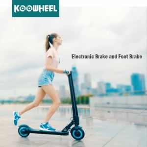 Koowheel 8inch Foldable Electric Kick Scooter with LED Display pictures & photos