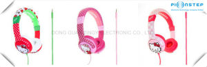 Hello Kitty Headphone for Girls Children Cute Colorful