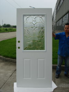 Fangda Luxury Steel Glass Latest Room Door pictures & photos