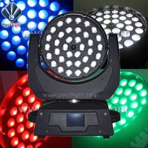 RGBW 4in1 Zoom Wash LED Stage Light Moving Head pictures & photos