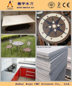 5-Axis CNC Waterjet Cutter for Floor Mosaic Medallions Design pictures & photos