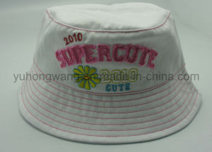 Cotton Children Baseball Bucket Cap/Hat, Floppy Hat