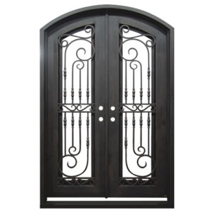 Front Entry Door Designs Iron Double Doors and Gates (UID-D149) pictures & photos
