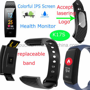 Fitness Tracker Bluetooth Smart Bracelet with Heart Rate K17s pictures & photos