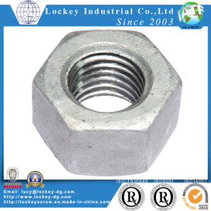 Class 8 Hex Nut Hexagon Nut Hex Finish Nut Alloy Steel pictures & photos