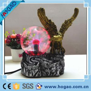 Creative Resin Garden Owl with LED Lights pictures & photos