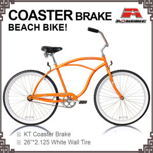 26 Inch Beach Cruiser Bike for Men (ARS-2603S-1) pictures & photos
