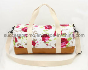 Flower Printed Canvas Tote Bag, OEM Orders Are Welcome pictures & photos