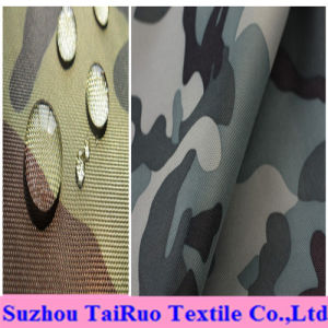 100% Polyester Oxford with Camouflage Printed for Military Uniform Fabric pictures & photos