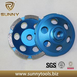 Dia100mm Single Segment Cup Wheel with M14 Connection pictures & photos