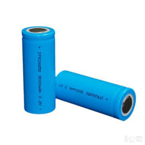 LiFePO4 Battery Cell 26650 3.2V3000mAh pictures & photos