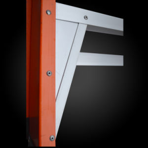 FRP Foldable Engineering Step Ladder with Tool Tray pictures & photos