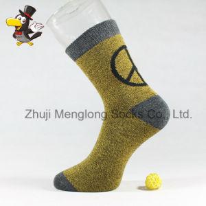 Golden Color for Men Cotton Socks