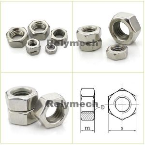 Stainless Steel Left Thread Hex Nut/Hexagon Nut pictures & photos