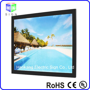 Magnetic Aluminum Frame Picture Frame Light Box with Sign pictures & photos