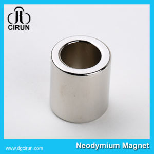Rare Earth Sintered Permanent Cylinder NdFeB Magnet pictures & photos