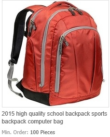 High Quality School Backpack Sports Backpack Computer Bag