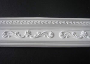 PU Decorative Carving Crown Moulding Corner Blocks pictures & photos