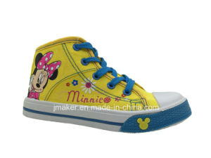 Fashion Cartoon Children Shoes Sneaker (X166-S&B) pictures & photos