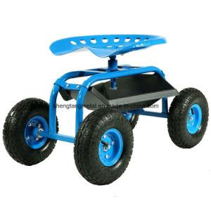 Rolling Garden Work Seat Cart