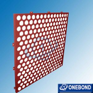 Perforated Aluminum Architectural Panels for Wall Panels pictures & photos
