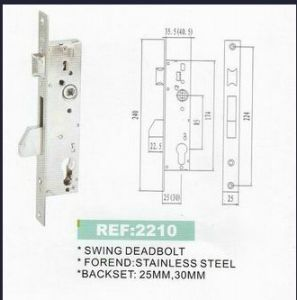 High Quality Mortise Lock Body Wtih Good Price pictures & photos