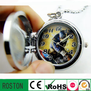OEM Design Japan Movement Pocket Watch (customised pattern)