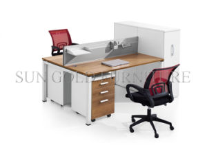 modern office partition melamine claft 2 person workstation szws320