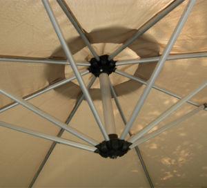 Aluminum Hanging Patio Promotional Beach Umbrella pictures & photos