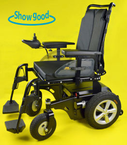 Showgood Electric Power Wheelchair Super Light Folding Wheelchair