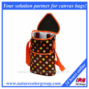 Double Wine Cooler Bag for Outdoor pictures & photos