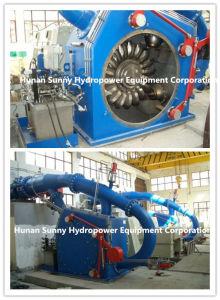 Single Nozzle Pelton Hydro (Water) Turbine-Generator/ Hydropower/Hydroturbine Generator pictures & photos