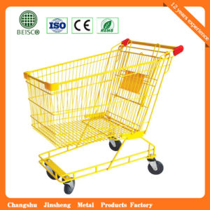 Cargo Colorful Shopping Cart for Australian Style (JS-TAU08) pictures & photos