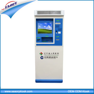 Lobby Standing All in One Touch Kiosk with Card Dispenser pictures & photos