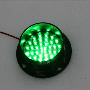 Customized 100mm Epistar Green LED Signal Traffic Light pictures & photos