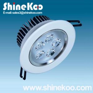 5W Aluminium LED Downlight Convex (SUN10-5W) pictures & photos