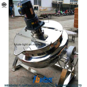 Stainless Steel Cooking Pot Reaction Kettle with Coil Jacket pictures & photos
