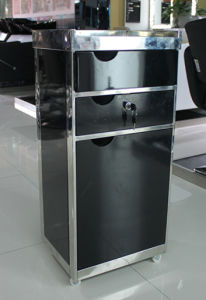 Lockable Stainless Steel Frame Hair Salon Trolley (MY-G311) pictures & photos