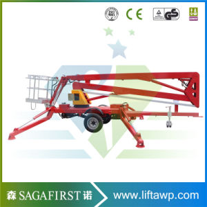 8m to 14m Towable Lift Aerial Work Man Lift Platform pictures & photos