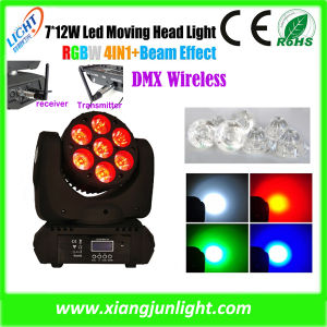 7X10W RGBW Mini LED Moving Head Beam Wash pictures & photos
