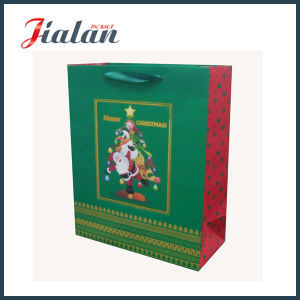 Top Quality Cheaper Fancy Christmas Paper Gift Bags pictures & photos