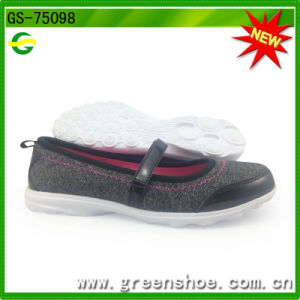 New Arrival latest Design Ladies Shoes From China GS-75098 pictures & photos