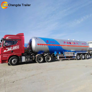 Factory Sale 3 Alxes LPG Tanker LNG Tank Semi Trailer pictures & photos