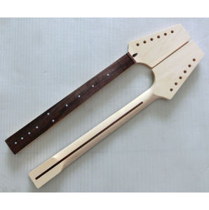 for Tl Guitar Unfinished 22 Fret Canadian Maple Guitar Neck pictures & photos