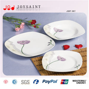 Promotional Flower Porcelain Dinner Set pictures & photos